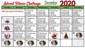 Advent Fitness Challenge 2020