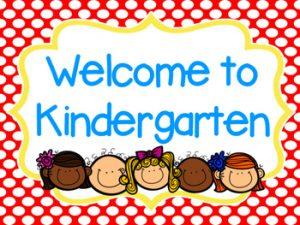 Welcome to Kindergarten Website
